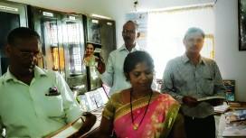 Librarian Ms Madhuri Rawat introducing Books