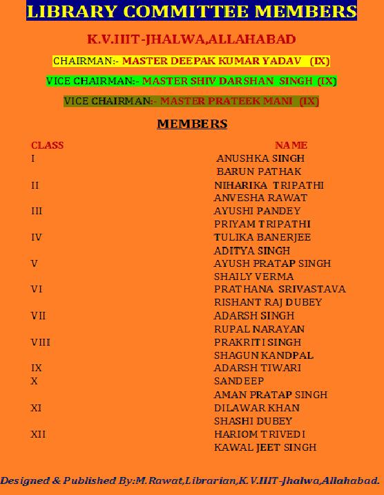 lib member list
