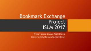 Bookmark Exchange Project 2017-1