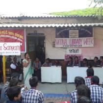 Quiz host by Madhuri Rawat,Lib